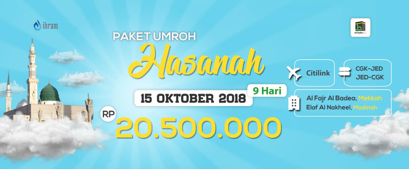 Paket Umroh Promo Hasanah Elteyba