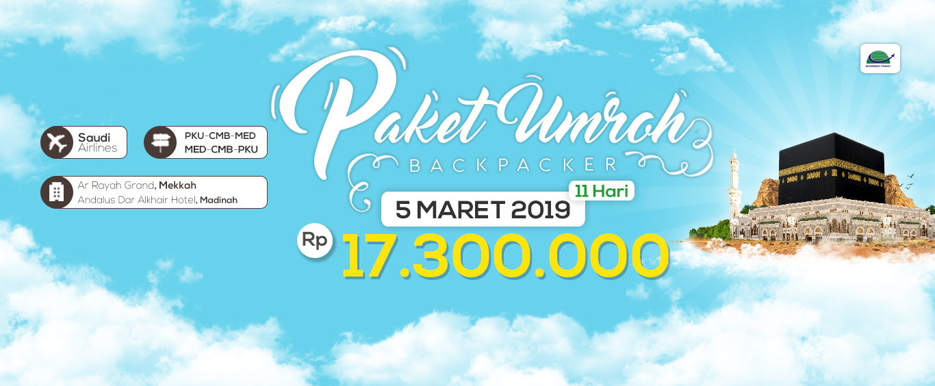 Paket Umroh Backpacker 11 Hari