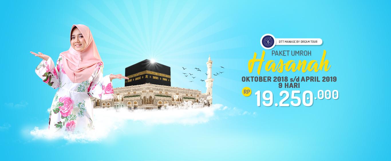 Paket Umroh Hasanah Dream Tour