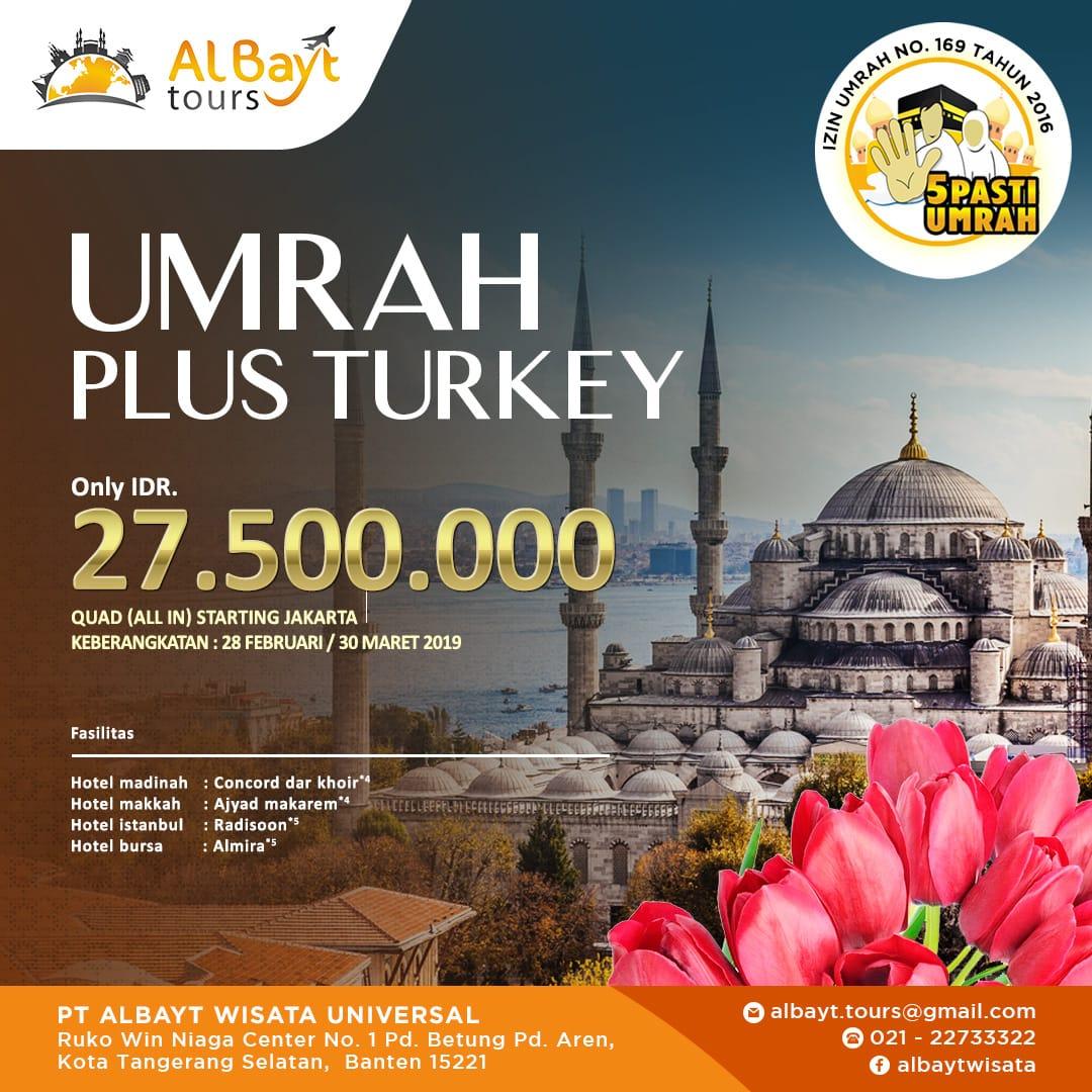 UMROH PLUS TURKEY