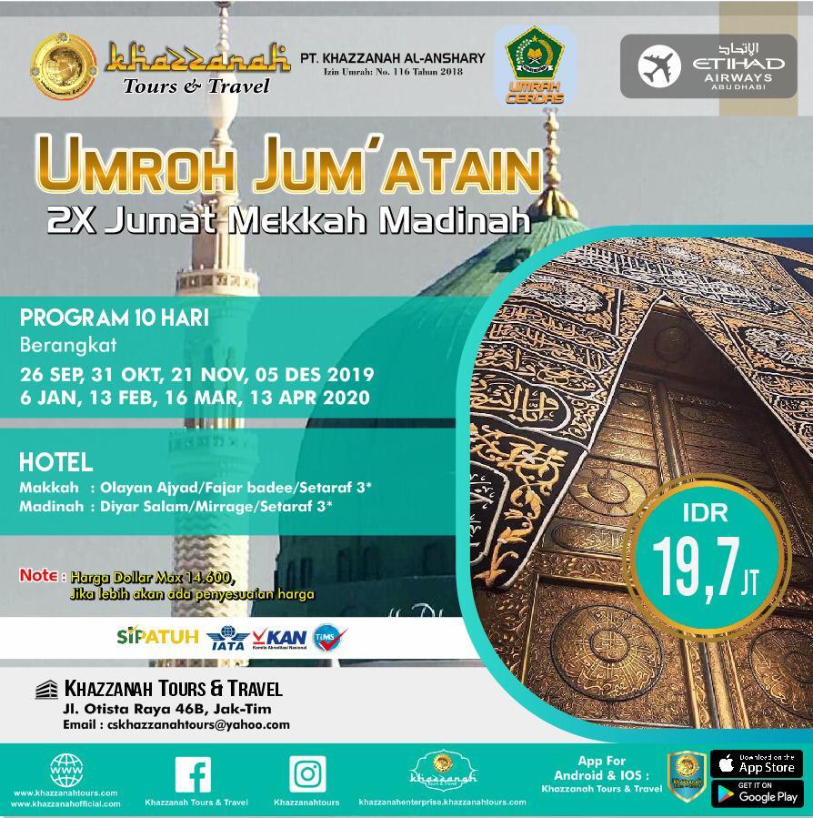 UMROH JUM`ATAIN 10H By ETIHAD