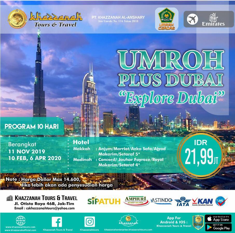 UMRAH PLUS DUBAI 10H