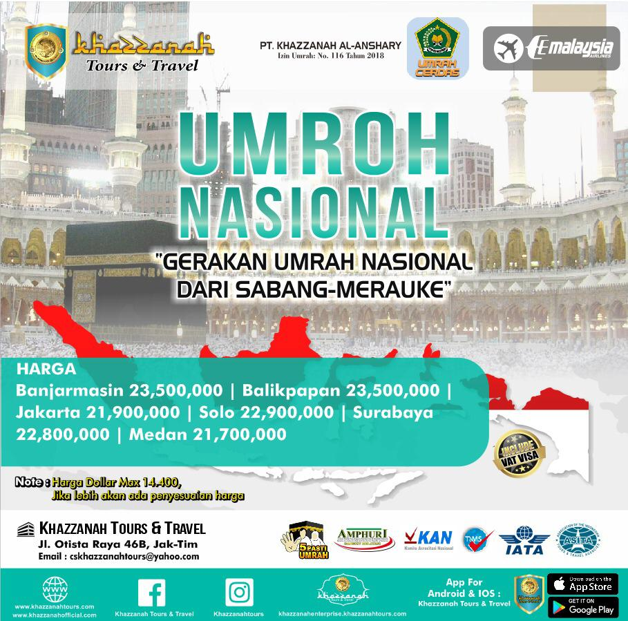 UMROH NASIONAL 12H (2X JUM`AT) By MH
