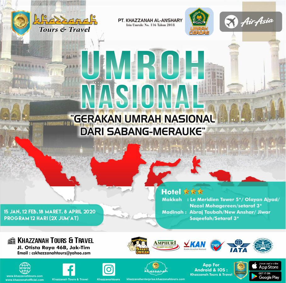 UMROH NASIONAL 12H (2X JUM`AT) By AirAsia