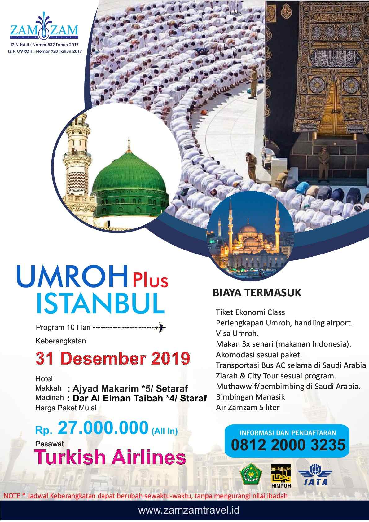 10 HARI BY TURKISH AIRLINES